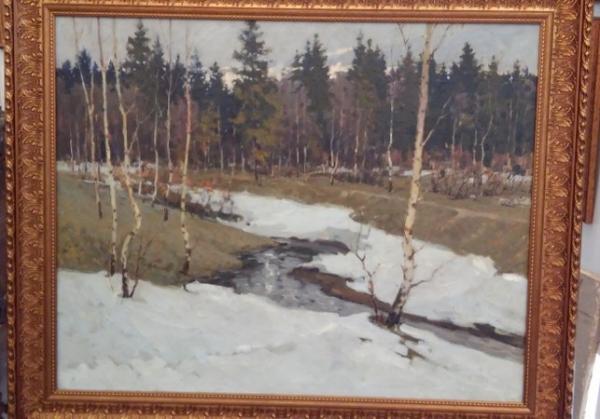 Картина «Весна», СССР сер.XX в.