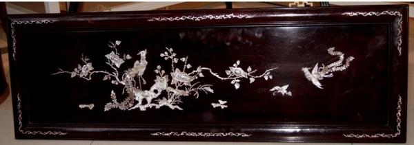 """Пано """"Китайские Петухи - символ солнца и благосостояния"""", нач. ХХ в. Китай"""