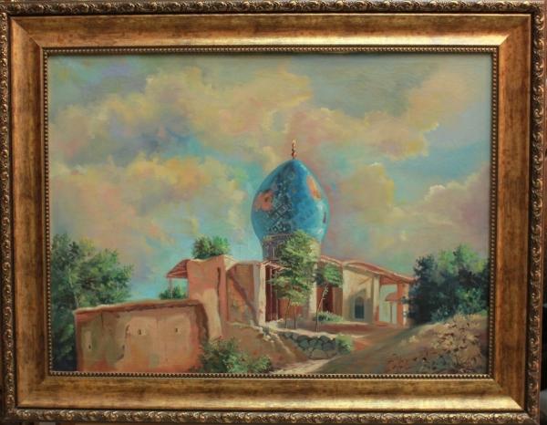 """Картина """"Регистан"""", художник Амикулов"""