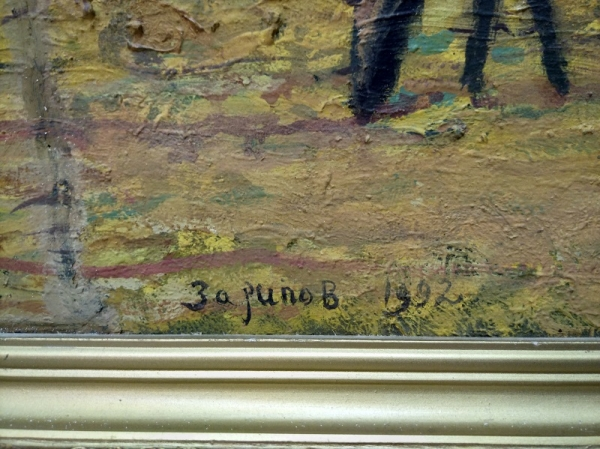 """Картина """"Ак кон"""" (перев. с тат. """"Ясный день""""), 1995-96 г."""