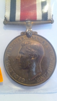 Медаль за верную службу в специальных полицейских силах. Великобритания. XX в.