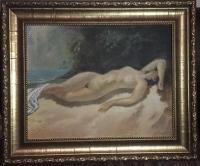 Картина «Сон речной нимфы», 1994 г.