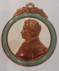Плакетка «Пушкин», сер. XX в. СССР