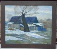 """Картина """"Начало весны"""", художник Кузин А.Я."""