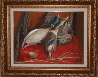 "Картина ""После охоты"", 1975 г"