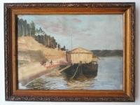 """Картина """"Волга"""", 1971г."""