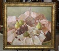 Картина «Розовый натюрморт», художник Недовизий Г.М., 1997 г.