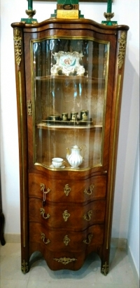 Витрина в стиле Рококо, XIX в. Европа