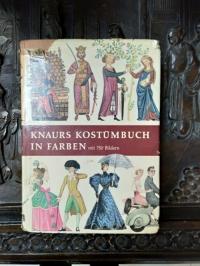 "Книга на немецком языке ""Knaurs Kostumbuch"""