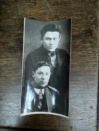 Фотография Мусы Джалиля с его автографом, 1928 г.