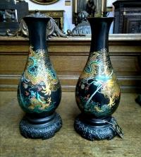 Парные вазы в Китайском стиле, Китай, 1960-е г.