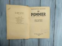 "Книга на француском языке ""Le Pommier"" (the apple tree) Daphne du Maurier. Франция 1953 г."