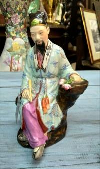 Статуэтка «Мудрец», 1-ая пол. ХХ в. Китай.