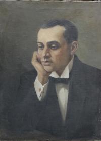 «Портрет композитора С.В.Рахманинова», 1 пол. XX в.