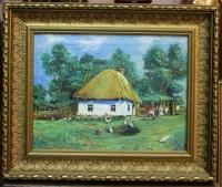 "Картина ""Хуторок"", худ. Котляр Б.А. , 1956 г."