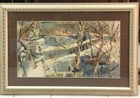 """Картина """"Половодье"""", 1968 г."""
