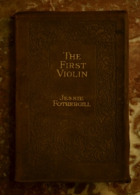 "Книга ""The First Violin"" 1909 г."