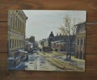 """Картина """"ул.Муса Джалиля"""", художник Минияров Р.Т."""