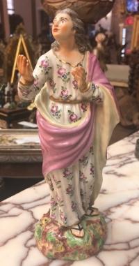 """Статуэтка """"Апостол Иоанн"""", Германия, 1760-е гг., Клостер-Фейльсдорф"""