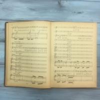 Опера «Аида» Верди ноты Л.Я. Московской