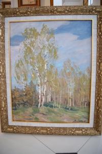 """Картина """"Начало мая"""", худ. Ананьев Ю.А., 1983г."""