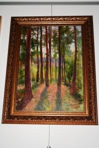 """Картина """"Сосновый лес"""",художник Неустроев С.В."""