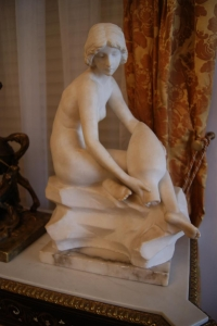 "Скульптура ""Девушка с кувшином"", Европа XIX в."