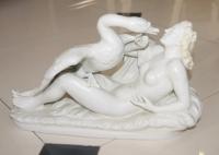 """Композиция """"Леда и Зевс в образе Лебедя"""", Германия, 1-ая пол. ХХ в."""