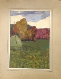 "Картина ""Осень"", автор: Хибатуллин Рефад Ренадович"