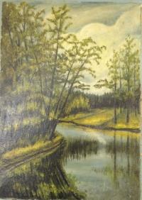 "Картина ""Пейзаж"", автор: Пономарев П.А."