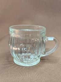 Очки винтажные желтый металл