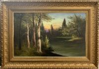 """Картина """"Лесной Пейзаж"""", худ. Капустин Г.И."""