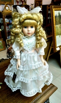 Винтажная кукла, Англия, сер. ХХ в.