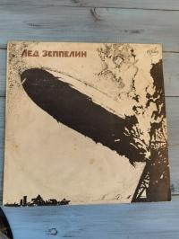 Пластинка группы «Лед Зеппелин»