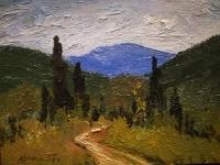 Пейзаж летний Салмин М.А. 1957 год