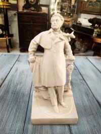Статуэтка Пушкин, 21,5 см, бисквит