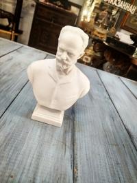 Бюст Чайковского, 12,5 см, бисквит