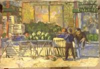"""Картина """"колхозный рынок"""""""