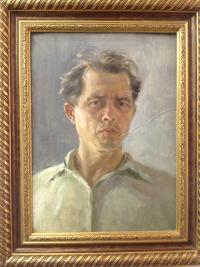 "Картина ""Автопортрет"" 1977 г."